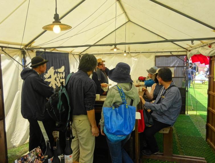 笠間陶炎祭 の飲食ブース5