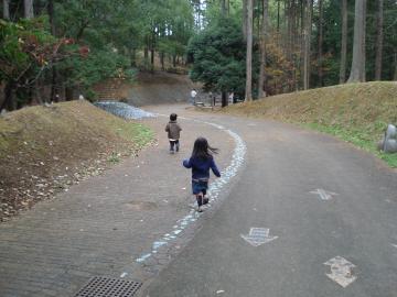笠間芸術の森公園 あそびの杜への入り口