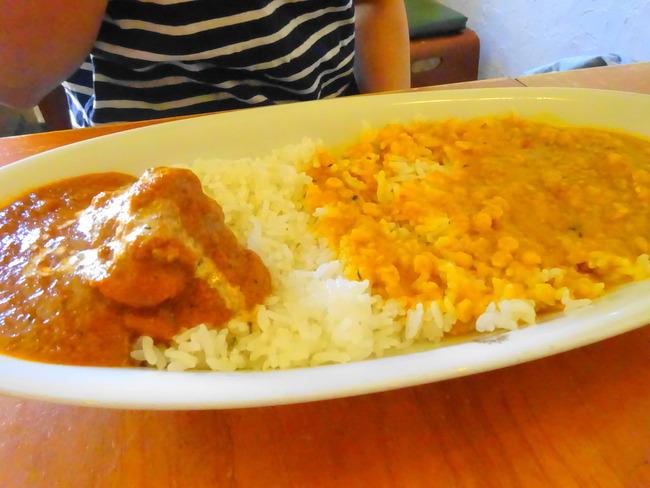 カルマ 水戸 ムルガマサラと豆カレー