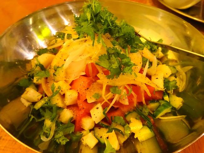 カルマ 水戸 のトマトサラダ