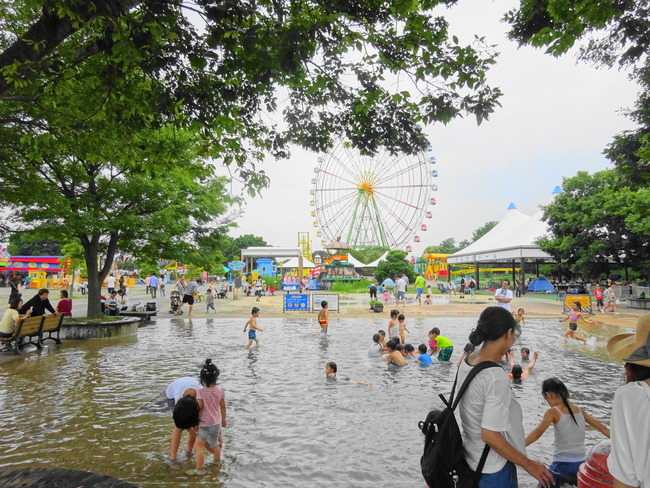 ひたち海浜公園で水遊び!夏は水着、着替えを持って海浜公園へGO! - いばらじお♪