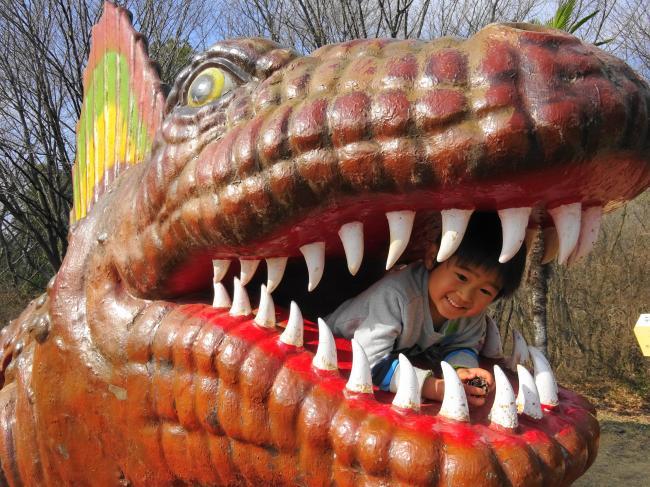 【茨城のレアポケモン出現スポット】水戸森林公園(恐竜公園) - いばらじお♪