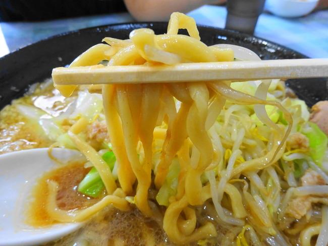 富次郎 の麺1