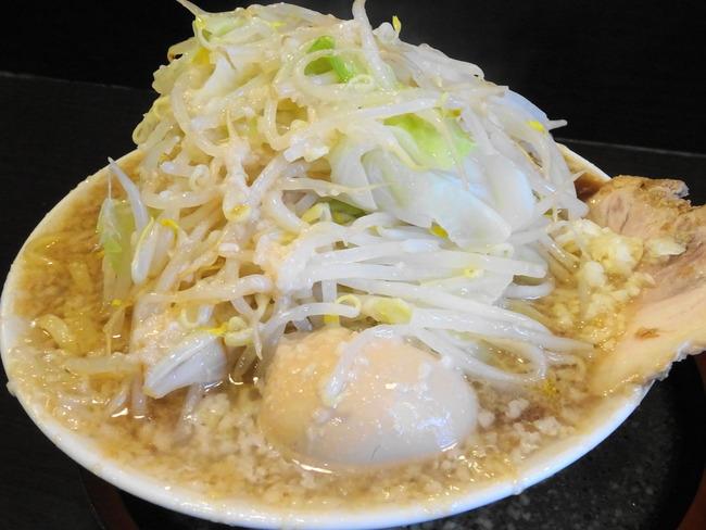 麺屋荒井|水戸市元吉田で二郎系ラーメンを喰らう! - いばらじお♪