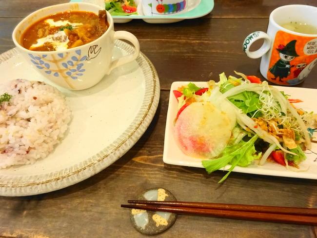 コジカフェ のビーフシチュー