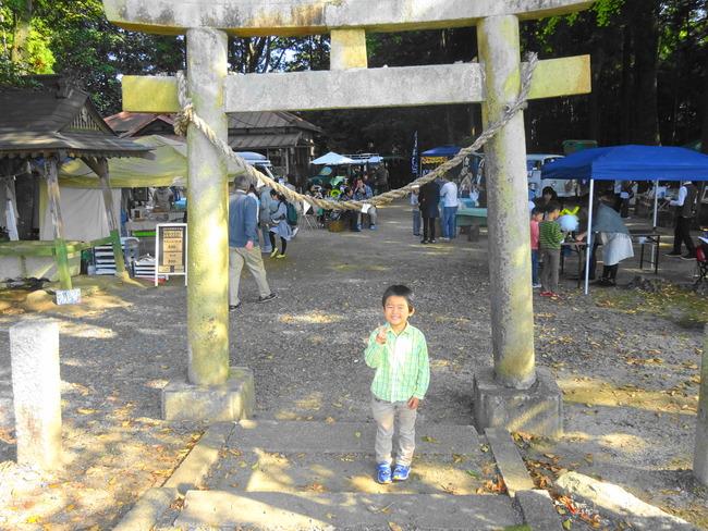 【茨城イベント2016】第4回「ともべマルシェ」in小原神社へ行ってきた! #地域ブログ #茨城 - いばらじお♪
