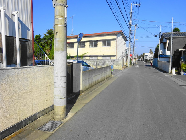 コジコジ 水戸 の周辺道路 DSC06519