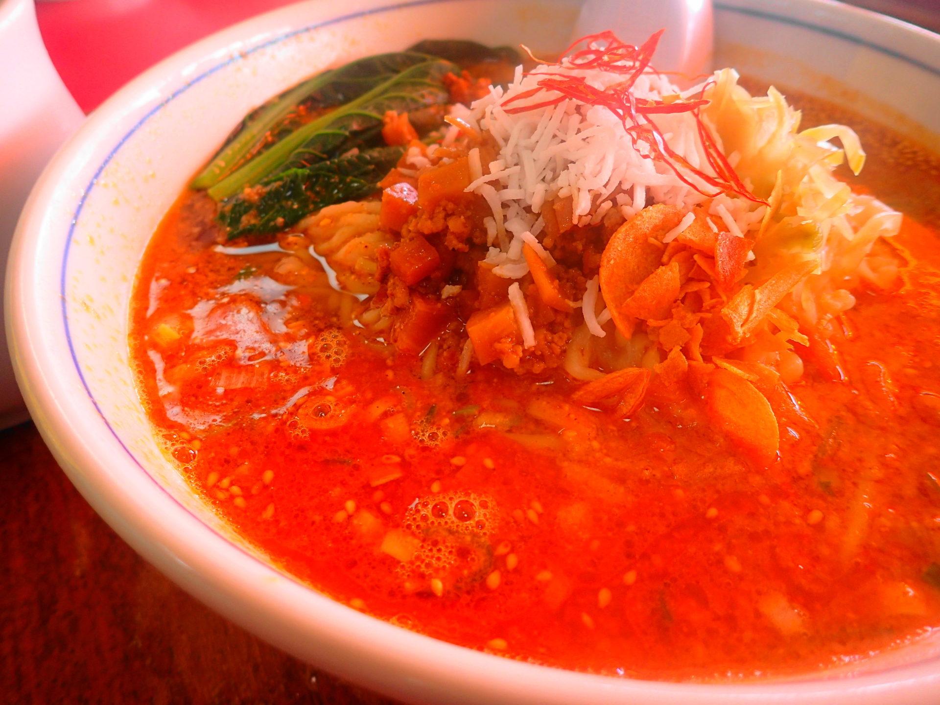 日立市「廬山」の担々麺は思わずスープを持ち帰りたくなる旨さ! - いばらじお♪