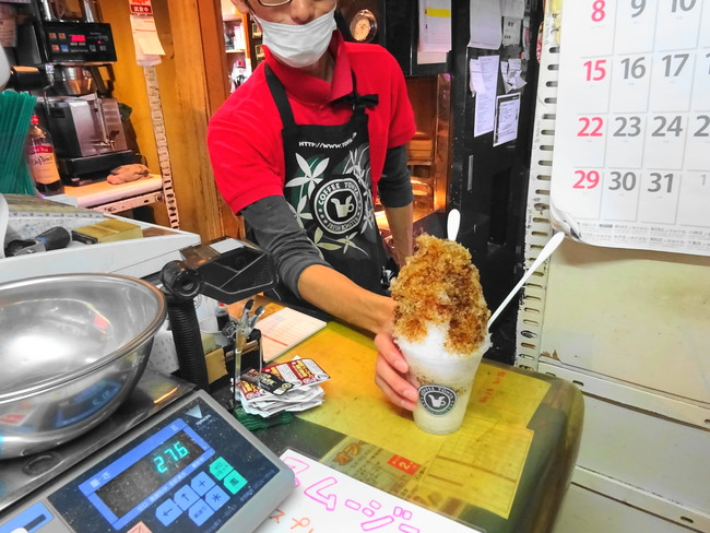 茨城 かき氷 珈琲問屋水戸店