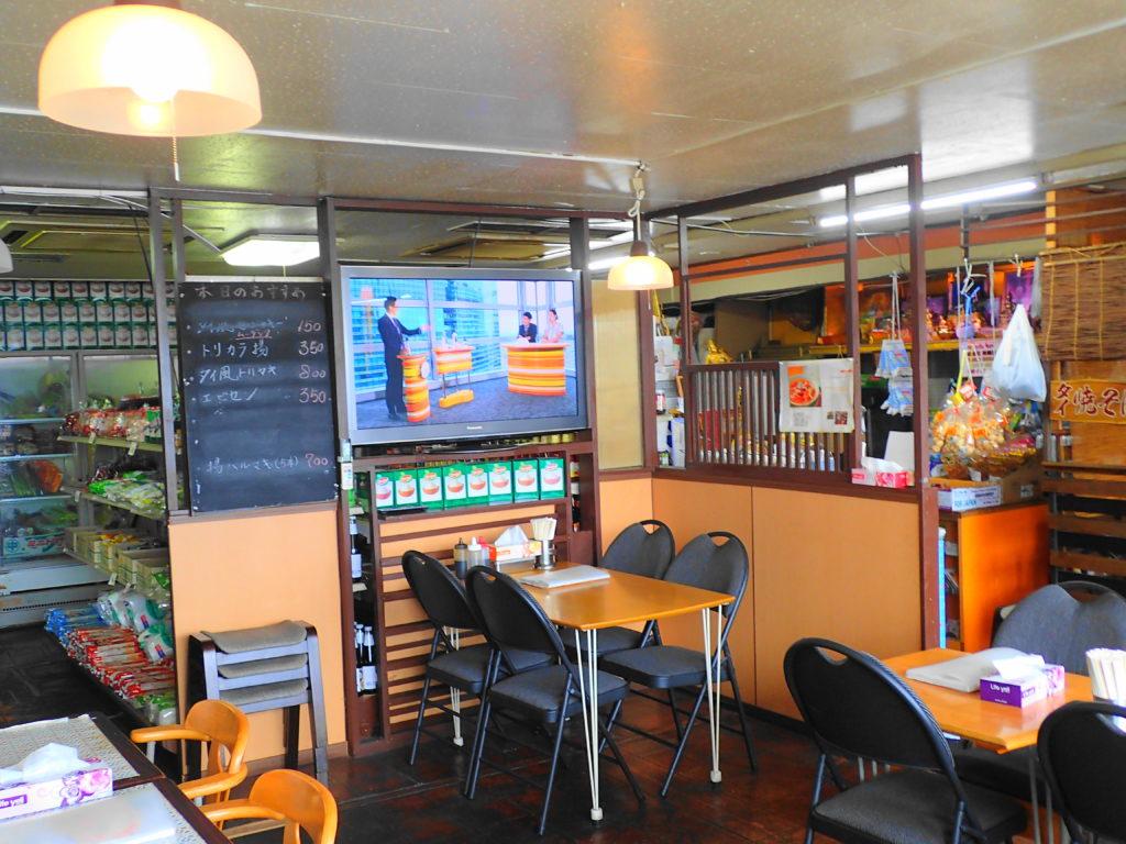 バンセンストアのレストランコーナー