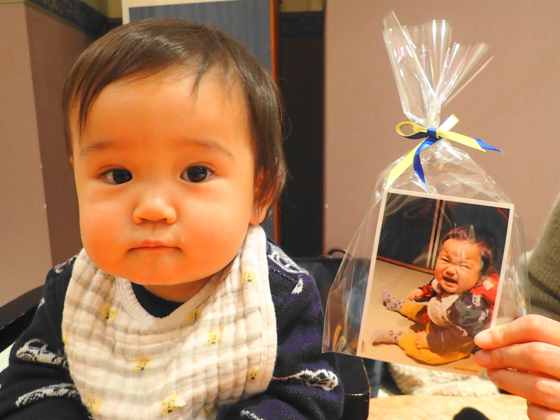一升餅のお祝は家族レストラン坂東太郎石岡総本店で! - いばらじお♪