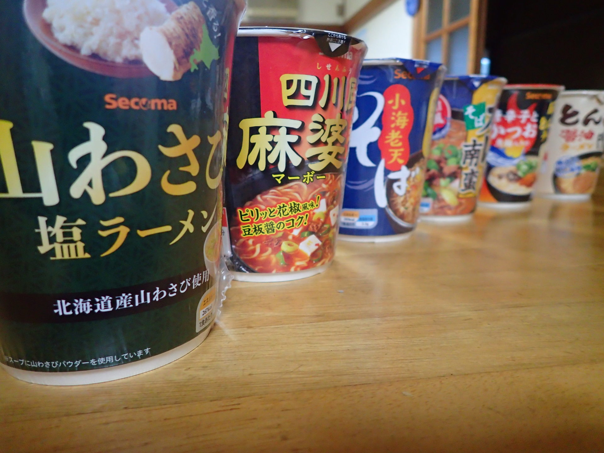 非常食にも最適!セイコーマートのオリジナルカップ麺は種類が豊富で新商品も続々登場!いろいろ食べたので紹介するよ♪ - いばらじお♪