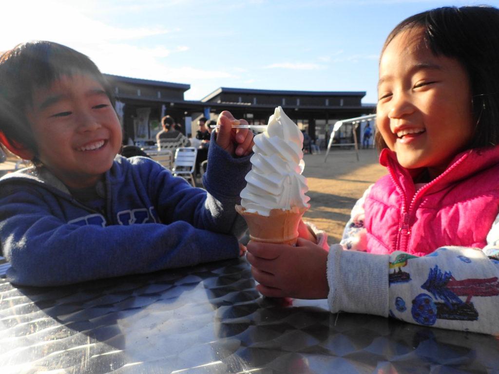 おみたま生乳ソフトクリーム
