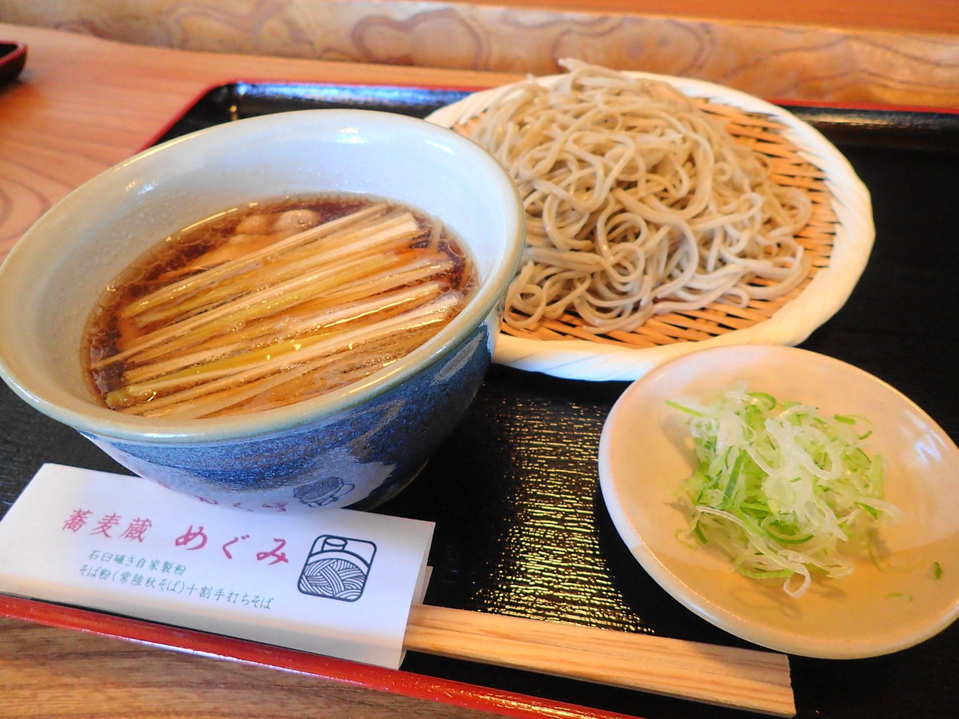 蕎麦蔵めぐみ|美味しい十割蕎麦が人気!!豚汁そばを実食 - いばらじお♪