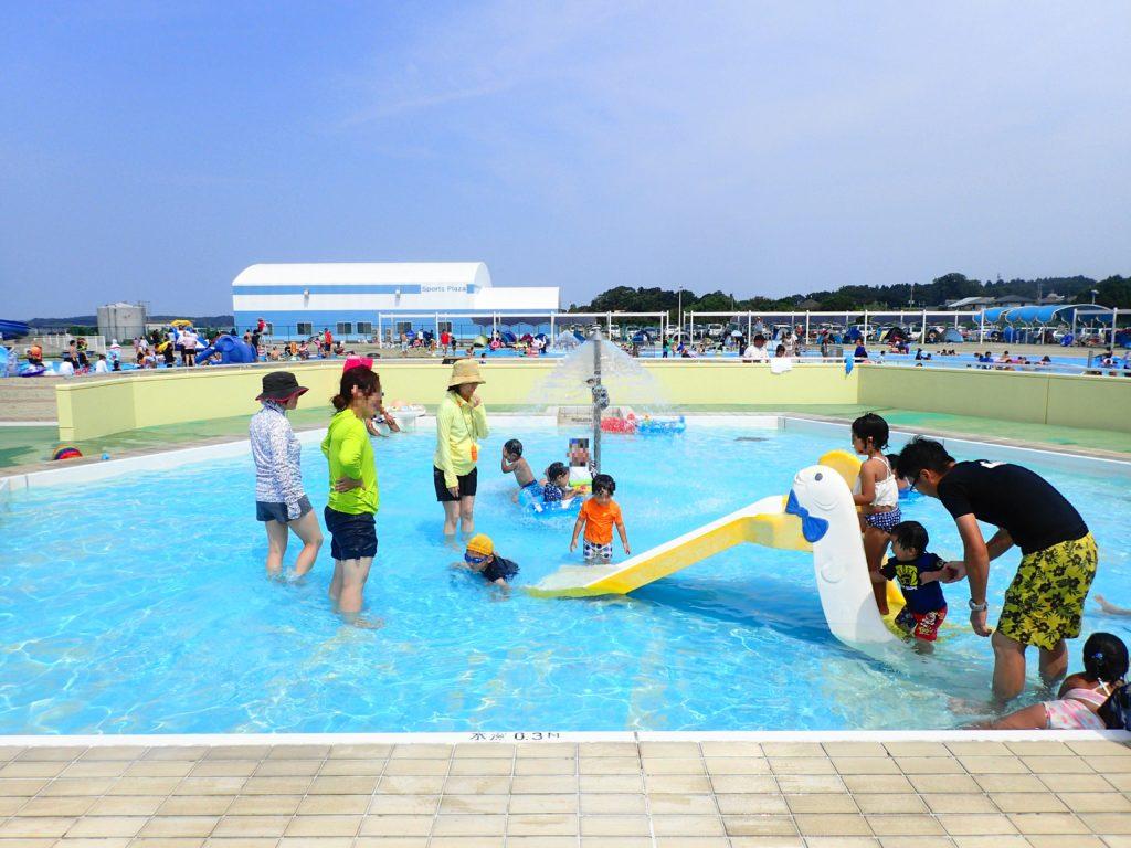 涸沼 プール の幼児用プール