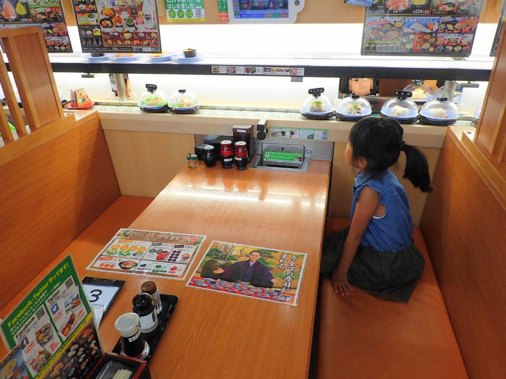 くら寿司の店内
