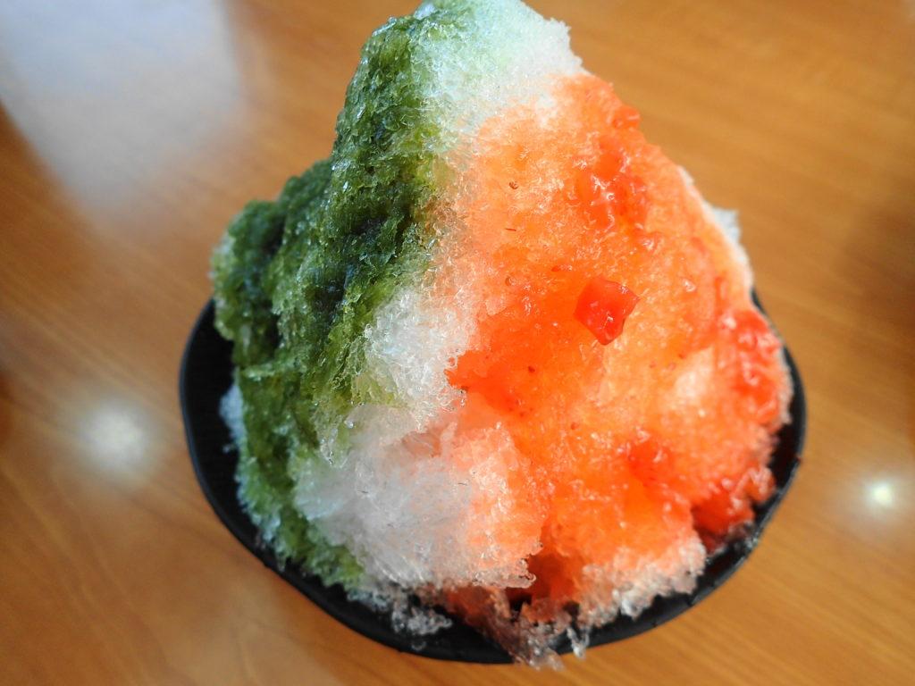 くら寿司の3色かき氷