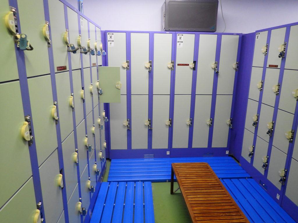 更衣室の写真