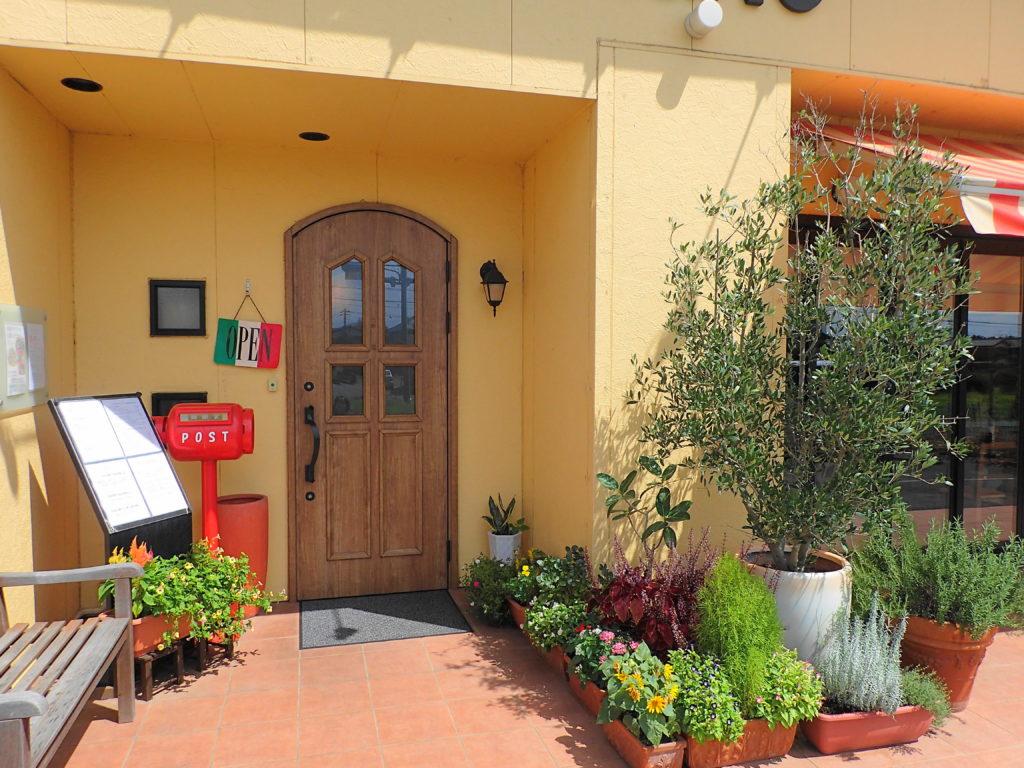 イルコンパーニョの入り口