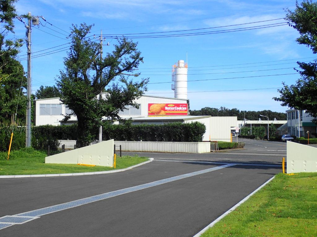 反対側はイトウ製菓の第2工場