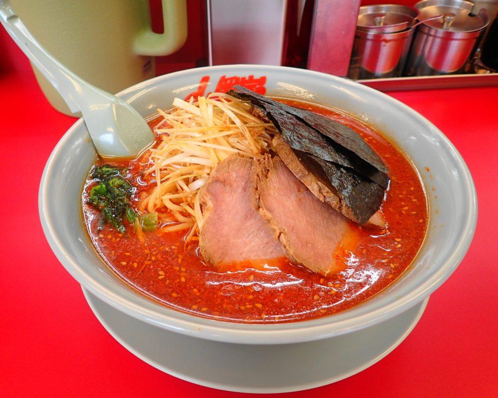 山岡家1号店の辛味噌ネギチャーシュー激辛