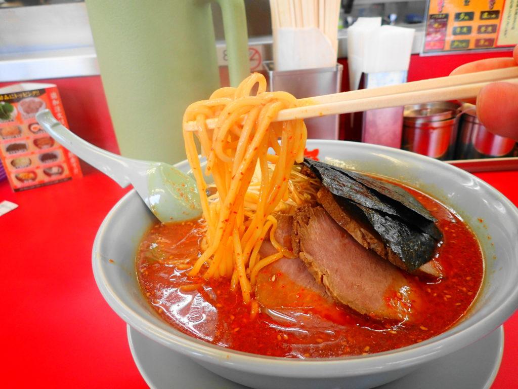 麺のリフトアップ写真