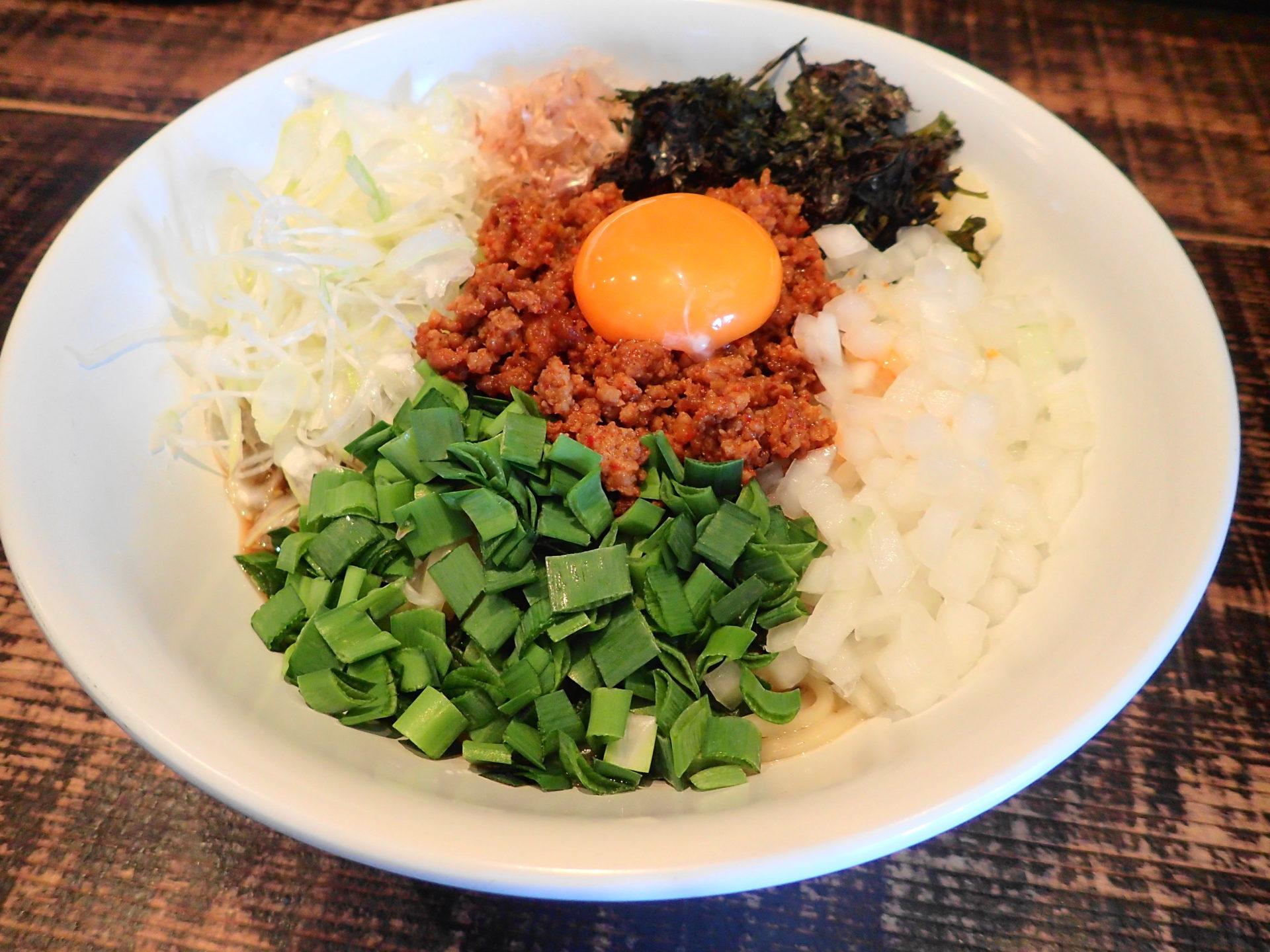 麺や結|水戸市で台湾まぜそば食べるならココが美味し! - いばらじお♪