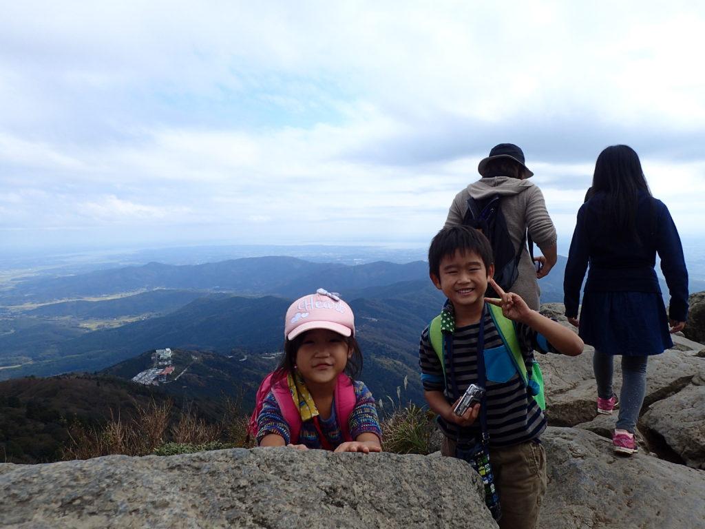 筑波山の登頂に成功!