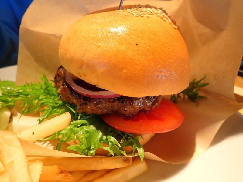 コナズ珈琲 水戸 のハンバーガー