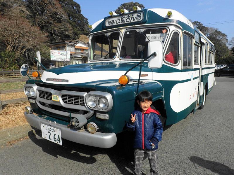 水戸の梅まつり ボンネットバス
