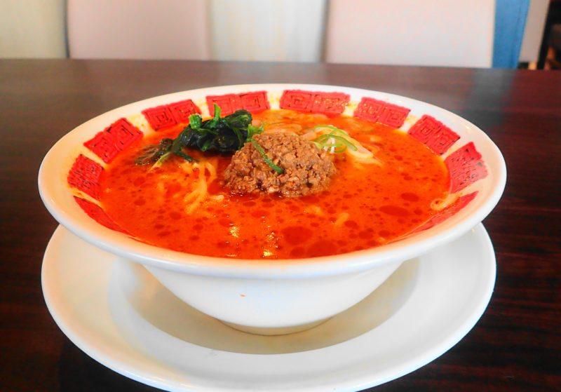 花椒(ホワジャオ)とラー油の担担麺