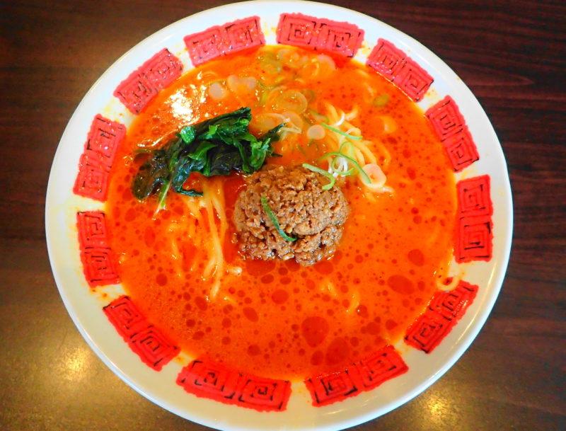 バーミヤンの担担麺