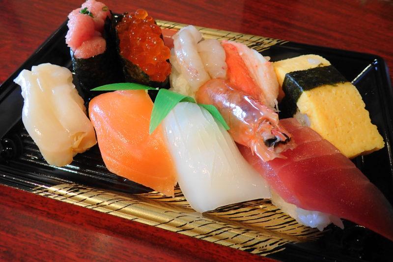 すしの丸藤 大洗水族館店 の上寿司