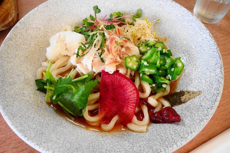 パークサイドカフェ上野 の料理1