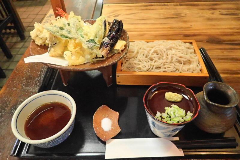 木挽庵 ひたちなか 蕎麦の名店で季節のかき揚げ,天ぷらせいろ実食レポ!!