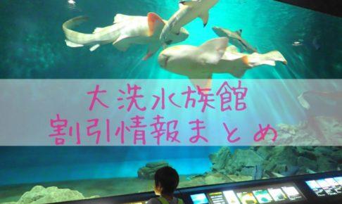 大洗水族館の割引券とクーポン入手方法