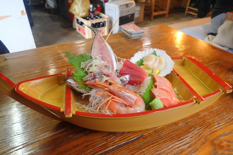 味の食彩館 船盛