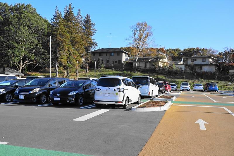 千波公園少年の森 駐車場