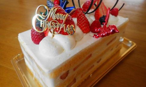 パティスリー トモジ のクリスマスケーキ